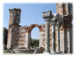 Philippi ruins
